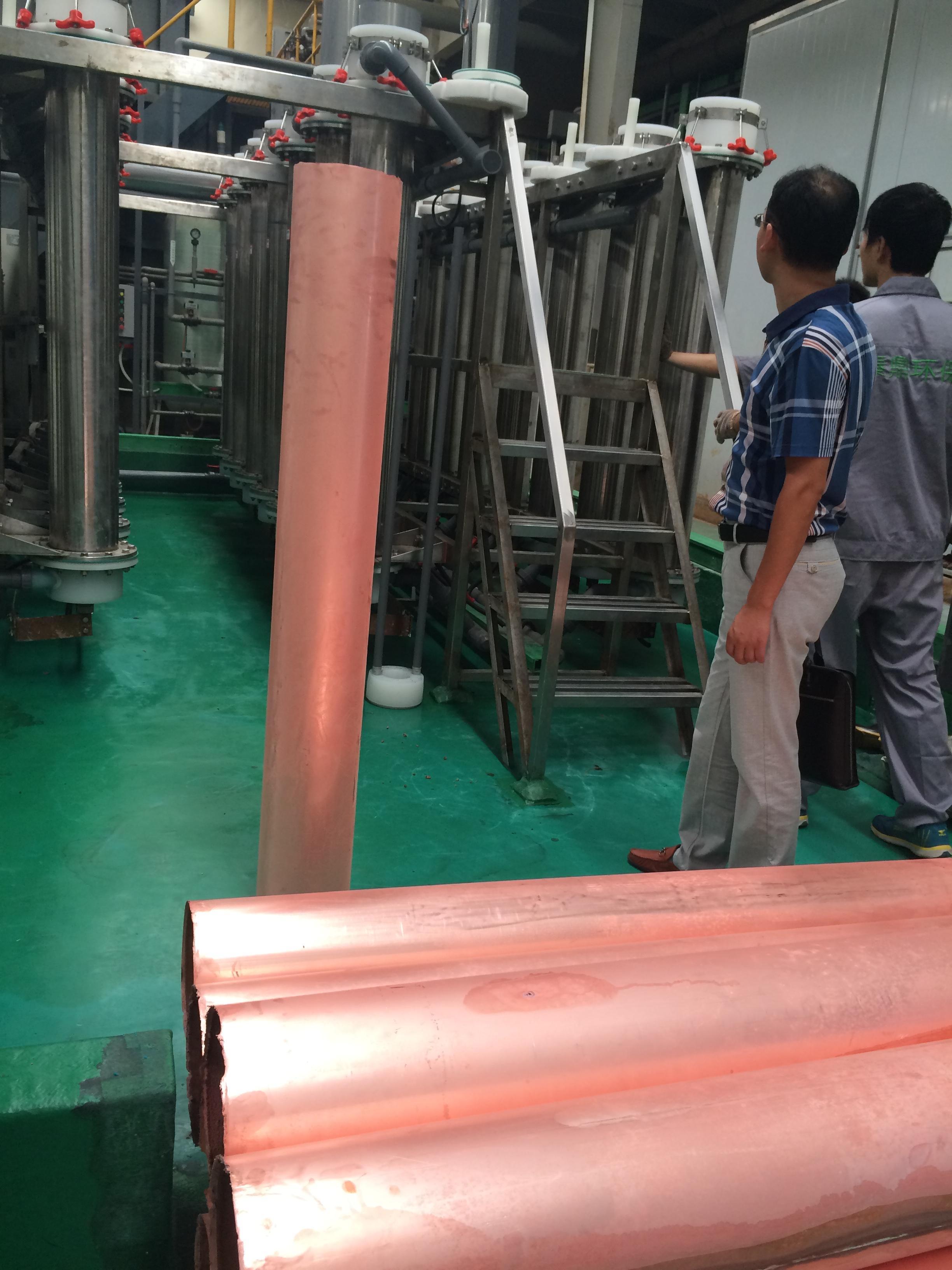 300T/月蚀刻液铜回收,再利用项目