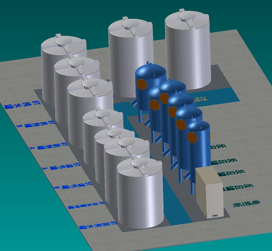 GSA-工业电镀表面处理废水循环再利用系统